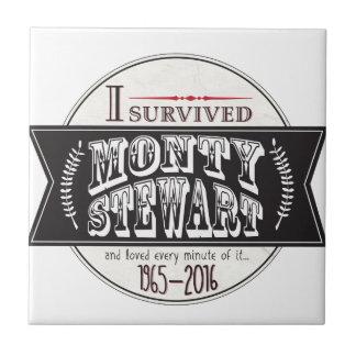 I Survived Monty Stewart... Tiles