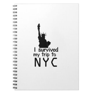 I Survived My Trip To Nyc Notebook