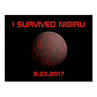 I Survived Nibiru Postcard