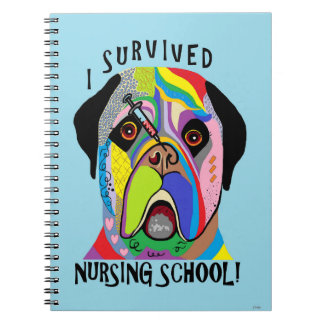I Survived Nursing School Notebooks