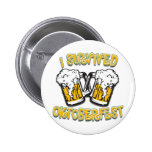 I Survived Oktoberfest Pin