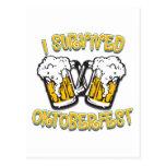 I Survived Oktoberfest Post Cards