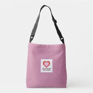 I Survived Open Heart Surgery2e Crossbody Bag