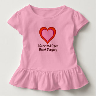 I Survived Open Heart Surgery Toddler T-shirt