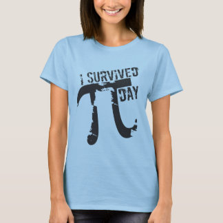 I Survived Pi Day - Funny Pi Day T-Shirt