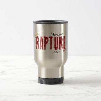 I Survived Rapture 5/21/11Mug 15 Oz Stainless Steel Travel Mug
