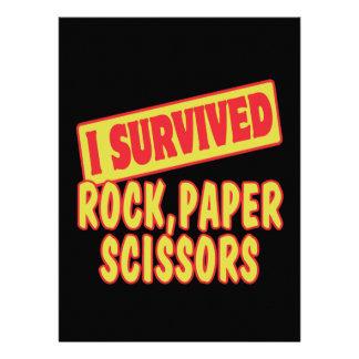 I SURVIVED ROCK PAPER SCISSORS CUSTOM ANNOUNCEMENTS
