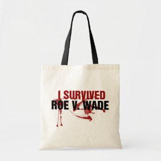 I survived Roe V Wade Tote Bag