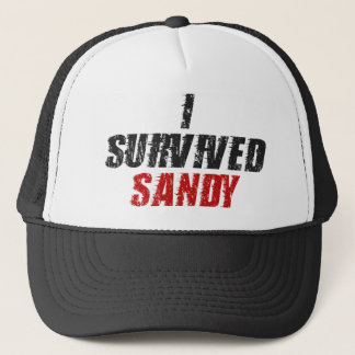 I Survived Sandy - Hurricane Sandy Hat (black)