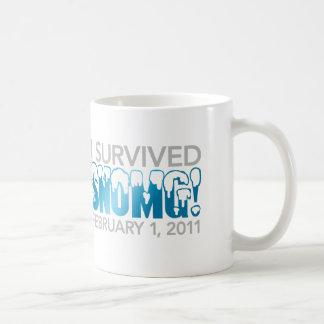 I Survived SNOMG 2011 Coffee Mug