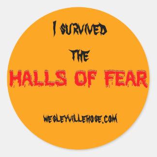 I Survived Sticker