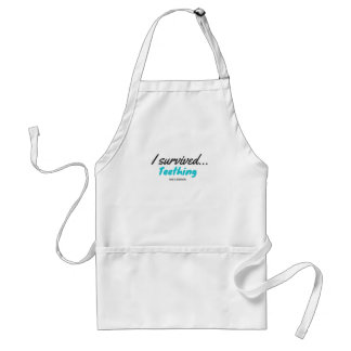 I Survived Teething - T Shirts Standard Apron