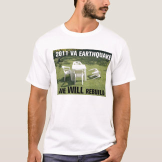 I survived the 2011 earthquake in DC, MD, VA T-Shirt