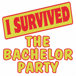 I SURVIVED THE BACHELOR PARTY CUT OUTS