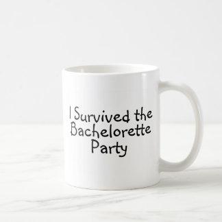 I Survived The Bachelorette Party Basic White Mug