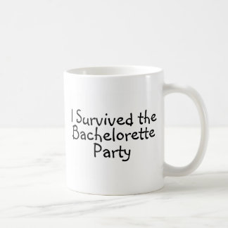 I Survived The Bachelorette Party Classic White Coffee Mug