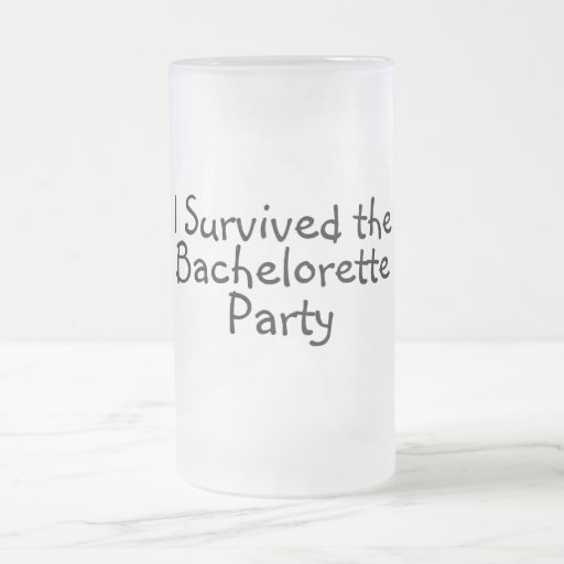 I Survived The Bachelorette Party Coffee Mugs
