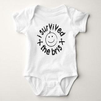 I Survived The Bris Baby Bodysuit