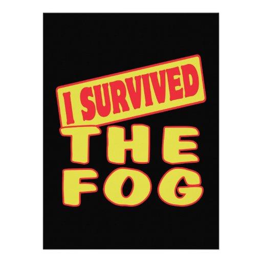 I SURVIVED THE FOG CUSTOM ANNOUNCEMENT