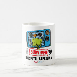 I Survived The Hospital Cafeteria Coffee Mug