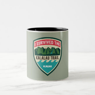 """I Survived the Kalalau Trail"" Mug"