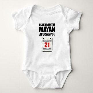 I Survived The Mayan Apocalypse 2012 (calendar) Tee Shirt