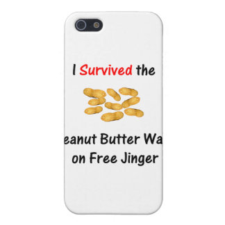 I Survived the Peanut Butter Wars at Free Jinger iPhone 5 Cases