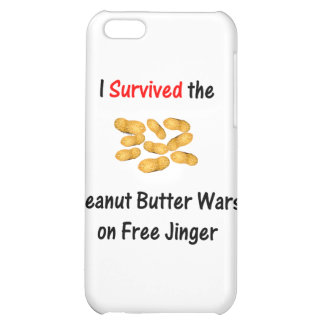 I Survived the Peanut Butter Wars at Free Jinger iPhone 5C Covers