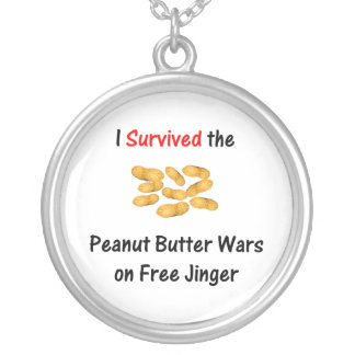 I Survived the Peanut Butter Wars at Free Jinger Pendant