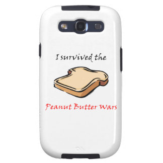 I survived the Peanut Butter Wars Samsung Galaxy SIII Case