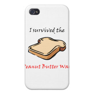 I survived the Peanut Butter Wars iPhone 4 Cover