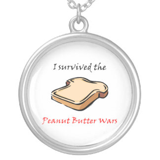 I survived the Peanut Butter Wars Pendants