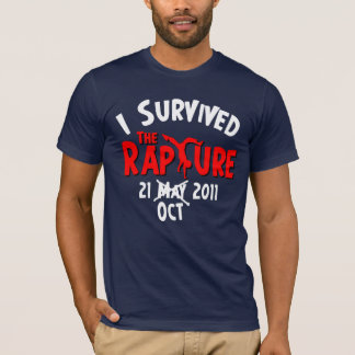 I Survived The Rapture October 21 T-Shirt