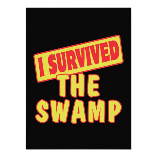 I SURVIVED THE SWAMP INVITE