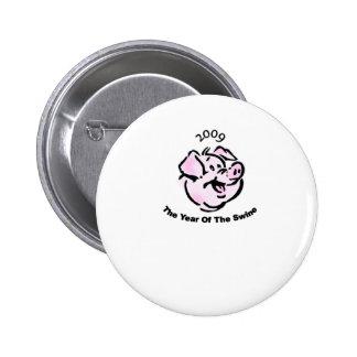 I Survived  The Swine Flu 2009 2 Inch Round Button
