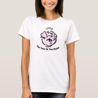 I Survived  The Swine Flu 2009 T-Shirt