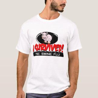 I Survived The Swine Flu Men's T-shirt