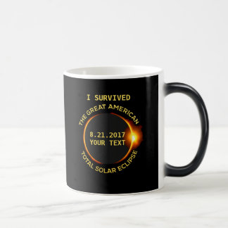 I Survived the Total Solar Eclipse 8.21.2017 USA Magic Mug