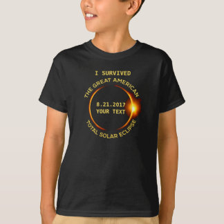 I Survived the Total Solar Eclipse 8.21.2017 USA T-Shirt