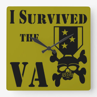 I Survived The VA Medal Wall Clock