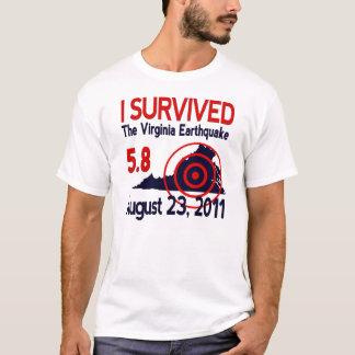 I Survived the Virginia Earthquake T-Shirt
