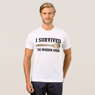 I SURVIVED THE WOODEN SPOON, Funny T-shirts