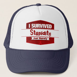 I Survived Trucker Hat