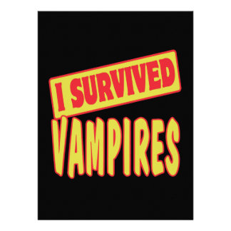 I SURVIVED VAMPIRES INVITES