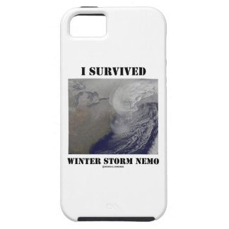 I Survived Winter Storm Nemo (NASA Outer Space) iPhone 5 Covers