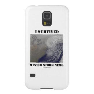 I Survived Winter Storm Nemo NASA Outer Space Galaxy Nexus Cases