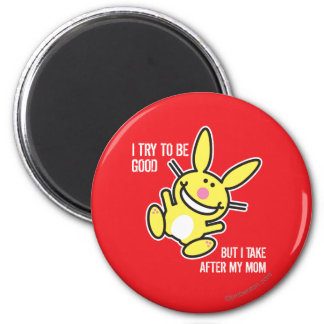 I Take After My Mom 2 Inch Round Magnet