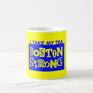 I TAKE MY TEA BOSTON STRONG MUG