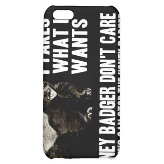 I Takes What I Wants - Honey Badger Dark Cover For iPhone 5C