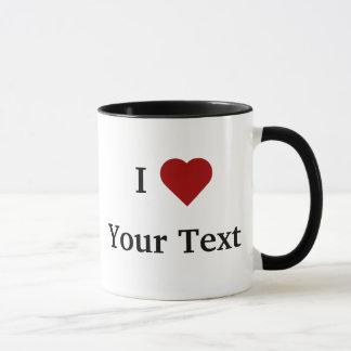 I tasse de coeur (personnalisez)